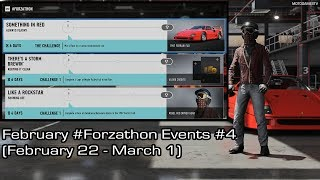 Forza Motorsport 7 - February #Forzathon Events #4 (February 22 - March 1)