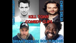 Ex-Football Player becomes amateur comic on Kill Tony Podcast W/ Chris D'Elia & Ron Funches