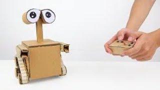 Kartondan WALL-E  Nasıl yapılır?