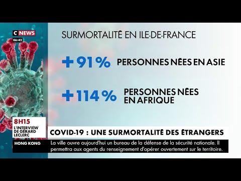 Covid-19 : la mortalité en France a été plus forte pour les personnes nées en Afrique et en Asie
