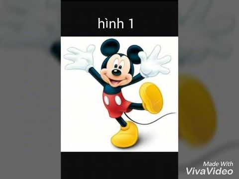 Những hình ảnh chuột mickey dễ thương nhất.