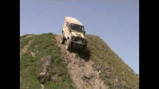mercedes G VS land rover defender 110 - Valdisere