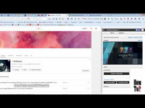 How to watch youtube in Firefox sidebar