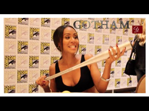 Gotham | Jada Pinkett Smith (Fish Mooney) Interview at San Diego ComicCon 2014