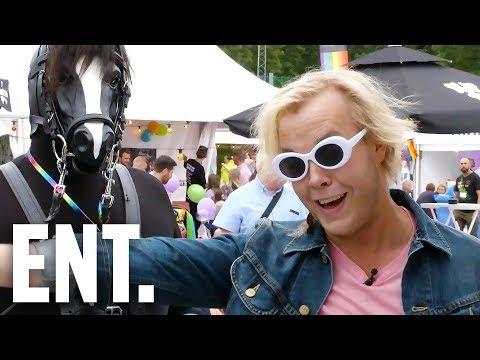 Daff känner på PRIDE STOCKHOLM 2017