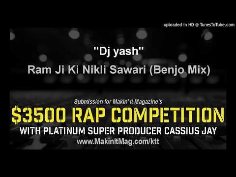 Ram Ji Ki Nikli Sawari (Benjo Mix) - Dj yash-(CgMaza.in)