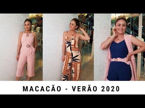 MACACÃO - TENDÊNCIA DO VERÃO 2020