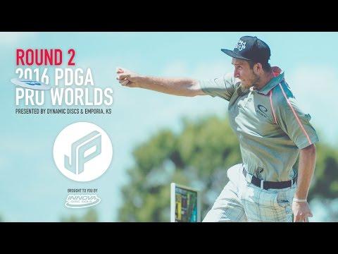 2016 PDGA Pro Worlds Round 2 | McBeth,Wysocki,Locastro,Koling