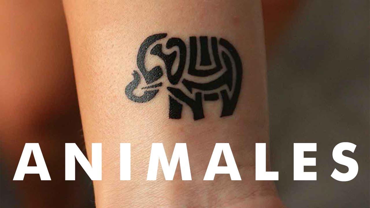 20 Pequeños Tatuajes De Animales