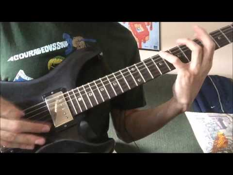 ASMR - Palm Muted Guitar Practice - August Burns Red (Messengers album playthrough)