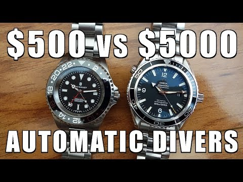 $500 vs $5000 Swiss Automatic Divers: Steinhart Ocean 44 vs Omega Planet Ocean - Perth WAtch #104
