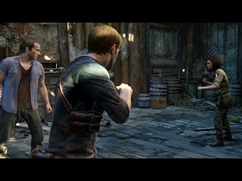 Uncharted 4: A Thief's End - Brothers Fight Nadine