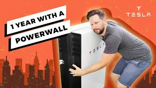 Is a Tesla Powerwall 2 Worth it? (1 year review)