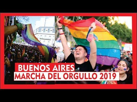 Buenos Aires Marcha Del Orgullo Lgbt 2019 Youtube