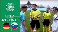 Deutschland - Slowenien 1:0 | Volle Länge | U17 EM-Qualifikation | Eliterunde