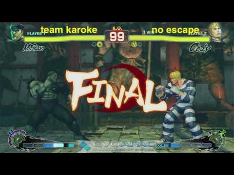 EVO APAC - team karaoke vs no escape - TEAM BATTLES - 2010.05