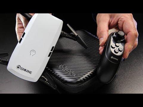 Eachine E56 pocket G Sensor transmitter or APP control selfie quad