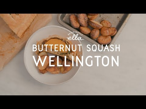 Vegan Squash & Mushroom Wellington | Deliciously Ella