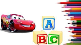 ABC  Alphabet   Deutsch Lernen und Malen für kinder (1)تعلم الحروف الالمانية للاطفال
