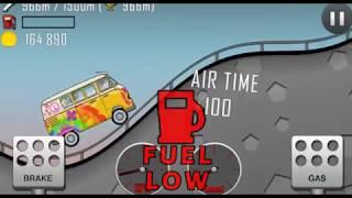 Hill Climb Racing Прохождение Гонки на машинки (джып, монстер трак, трактор, мотоцикл) мультик игра