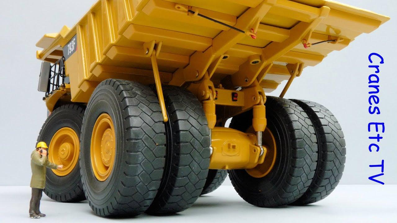Cat Dump Truck >> Norscot Caterpillar 793F Mining Truck by Cranes Etc TV - YouTube