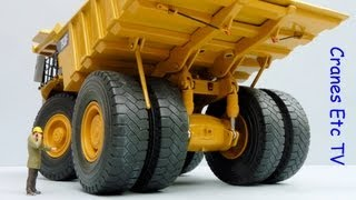 Norscot Caterpillar 793F Mining Truck by Cranes Etc TV