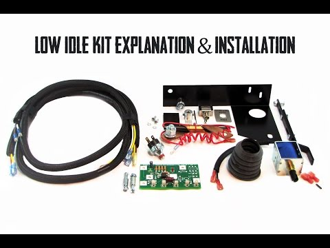 complete low idle kit explanation & installation: lincoln sa-200 arc welder  - youtube