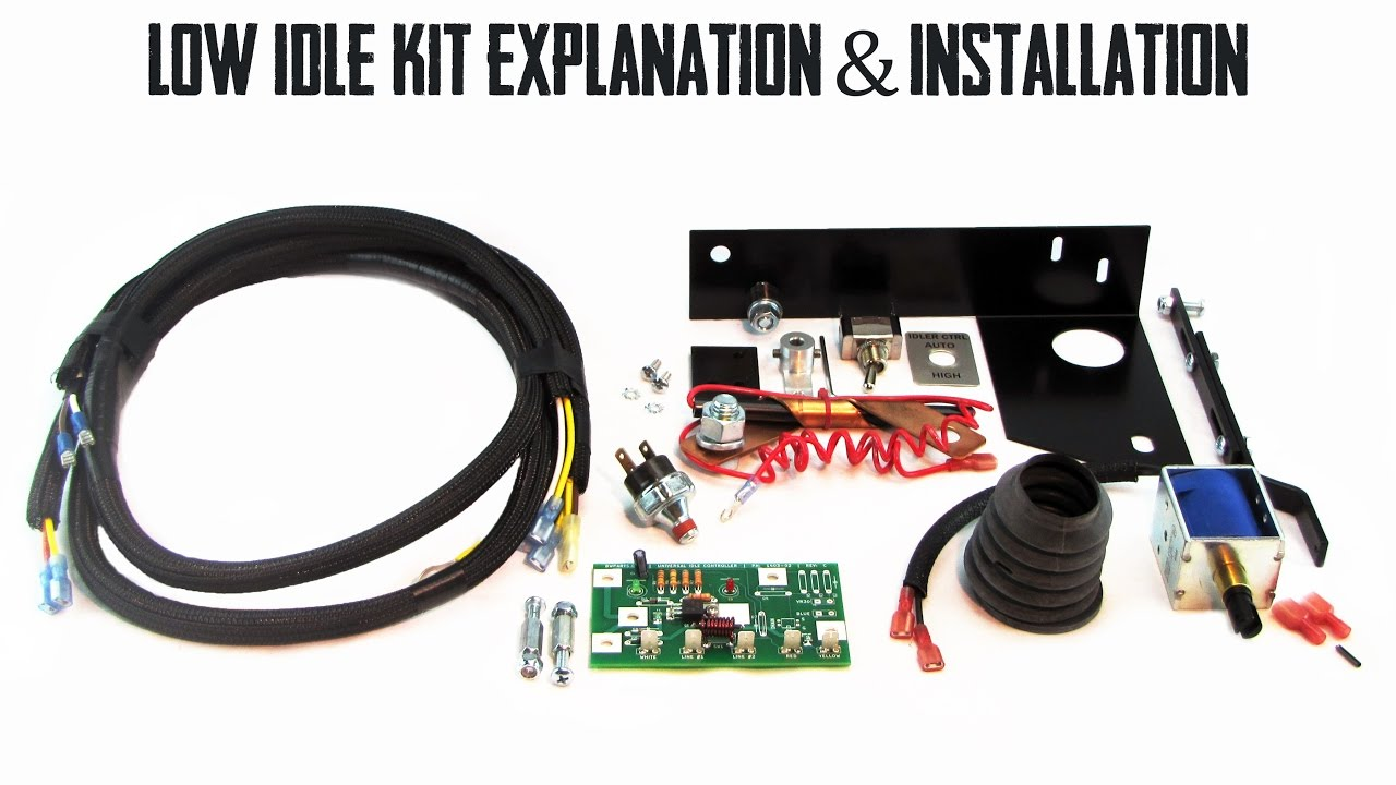 Lincoln Arc Welder Wiring Diagram Jeep Tj Subwoofer Complete Low Idle Kit Explanation Installation Sa 200