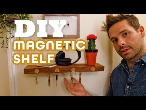 Make a Magnetic Floating Shelf - HGTV Handmade
