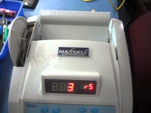 Currency machine with pcb test run 1 video