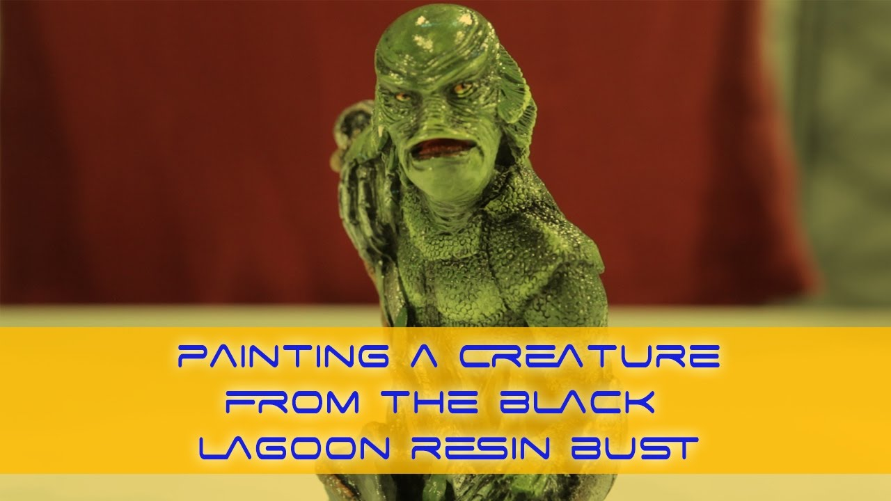 How To Paint A Creature From The Black Lagoon