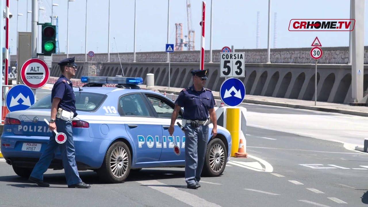 Presentato a roma il calendario della polizia di stato for Polizia di stato roma permesso di soggiorno