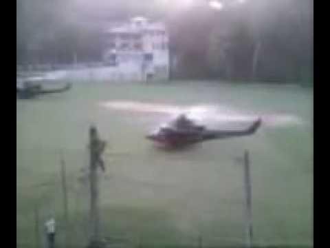 Sri Lanka Air Force - Bell 412 Presidential Helicopter Escort