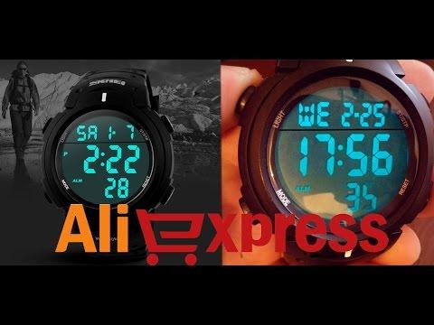 Спортивные водонепроницаемые электронные часы SKMEI 1068 из Китая (aliexpress)
