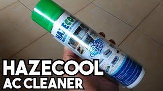 DIY Membersihkan AC Avanza tahun 2008 dengan Hazecool