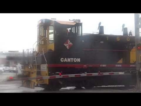 Canton Railroad in Baltimore City, Maryland