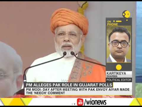 India News: PM Narendra Modi alleges Pak role in Gujarat polls