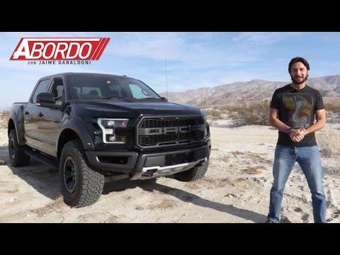 Ford F-150 Raptor 2017 - Prueba A Bordo Completa
