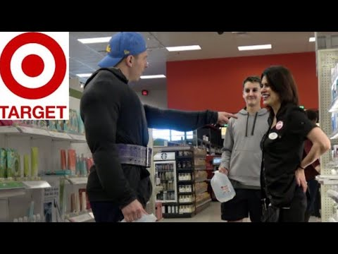 GYM DOUCHE PICKING UP HOT MOMS AT TARGET!