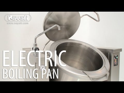 Automatic Electric Tilting Boiling Pan