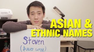 Day In The Life Of An Asian/Ethnic Name