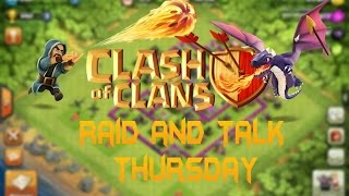 Clash of Clans: I'M BACK Raid And Talk Day (P3)