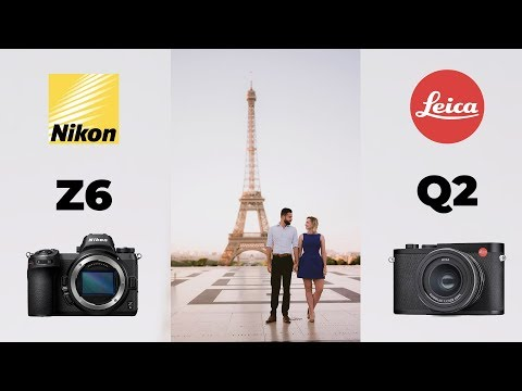 Wedding Photography Style Shoot in Paris with The Nikon Z6 and Leica Q2