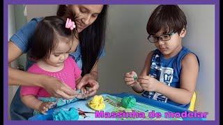 COMO FAZER MASSINHA DE MODELAR