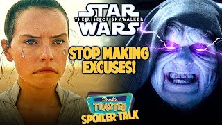STAR WARS THE RISE OF SKYWALKER SPOILER REVIEW | Double Toasted