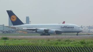 "Lufthansa Airbus A380 D-AIMA ""Frankfurt am Main"" - Narita International Airport-"