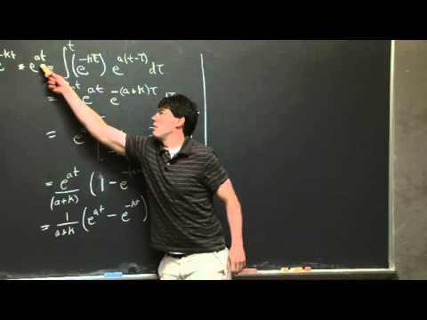 Convolution and Green's Formula | MIT 18.03SC Differential Equations, Fall 2011