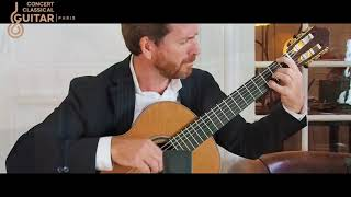 Ludovic Michel plays  Pedacito de cielo at  The Little Library Concerts Tango guitar