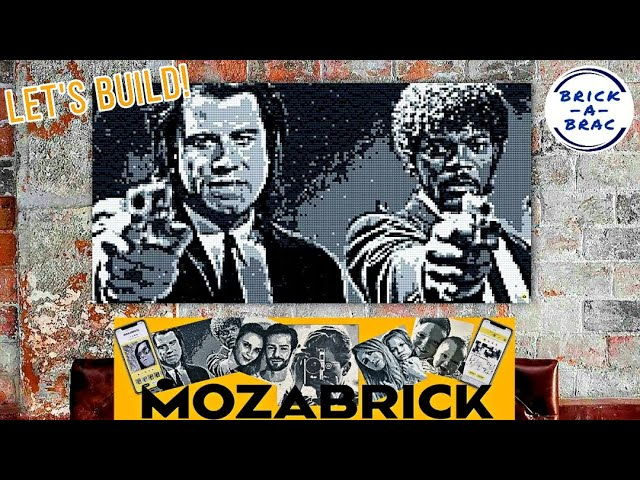 Let's build: MOZABRICK Mosaik-Baukasten! // LIVE