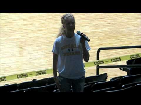 National Anthem Auditions at Charles Koch Arena (Wichita State University)